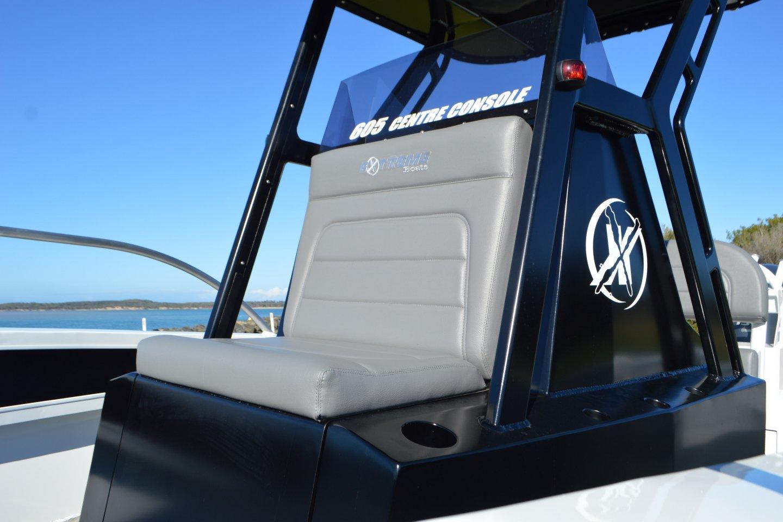 6m plate custom console seat