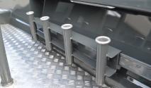 Extreme clip on rod rack