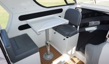 plate alloy wheelhouse seating