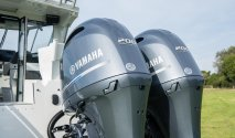 twin Yamaha outboards