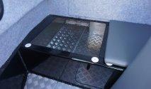 console storage compartment