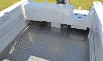 plate alloy fishing deck space