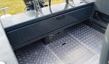 Extreme 5m plate boat rear deck