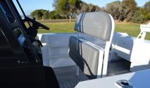 custom leaning post seat