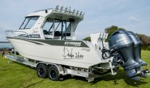 Extreme plate alloy 8m boat